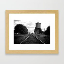 Options Framed Art Print