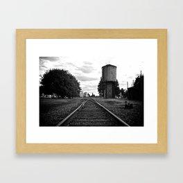 Options Framed Art Print