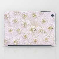 lace iPad Cases featuring Lace by Jacky Parker Floral Art