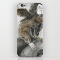 inner demons iPhone & iPod Skins featuring Demons by Jana Heidersdorf Illustration