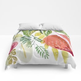 Peach Tree, II Comforters