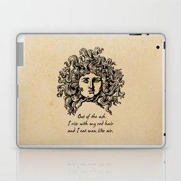 Sylvia Plath - Lady Lazarus Laptop & iPad Skin