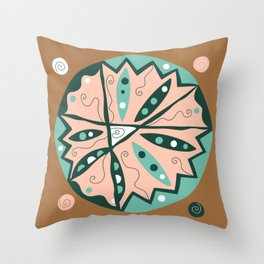 Dot #15 by lalalamonique Throw Pillow