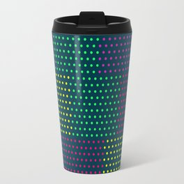 Polka Dot Patchwork Travel Mug
