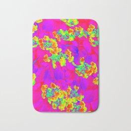 Multicolor Floral  Bath Mat