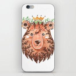 Brown Bear iPhone Skin