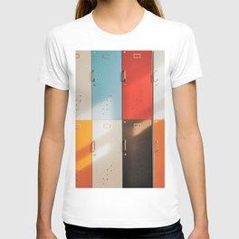 Retro Lockers T-shirt