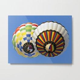 Dubai Balloon Festival Metal Print