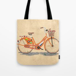 Love Holland, Love Bike Tote Bag