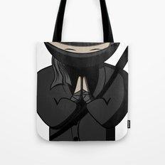 Ninja Bow Tote Bag