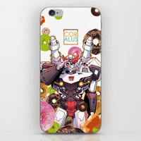 donuts iPhone & iPod Skins featuring Donuts by Coralus