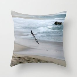 flying so close togther Throw Pillow
