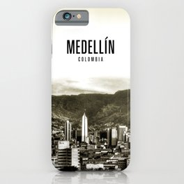 Medellin Colombia Wallpaper iPhone Case