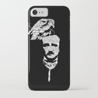 edgar allan poe iPhone & iPod Cases featuring Edgar Allan Poe collage by GraphicDivine