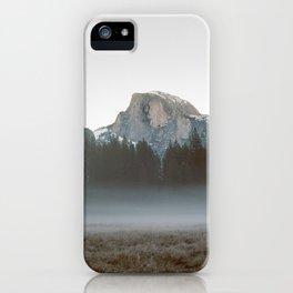 Morning Mist, Yosemite iPhone Case