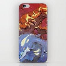 Omega Ruby & Alpha Sapphire iPhone & iPod Skin