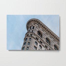 Flatiron Building Manhattan New York Metal Print
