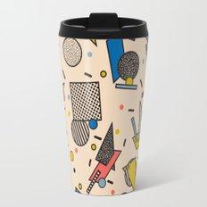 Memphis Inspired Pattern 7 Travel Mug