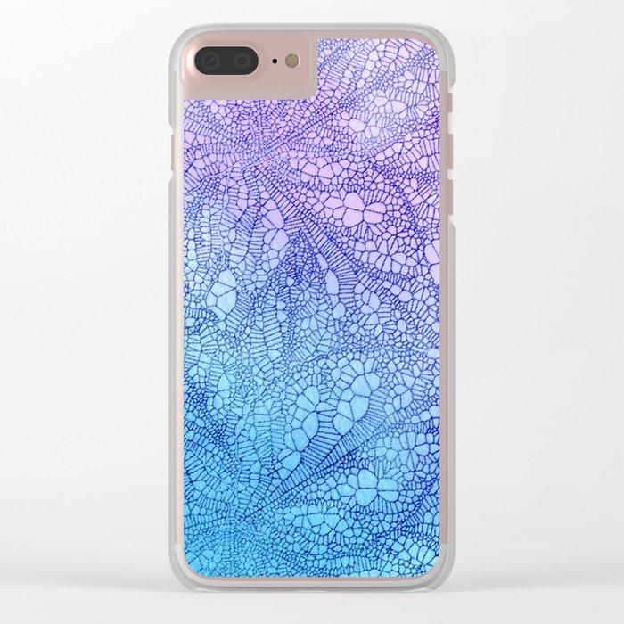 Leaf Skeletons #5 Clear iPhone Case
