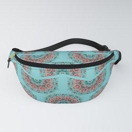 Floral Mandala pattern 1a Fanny Pack