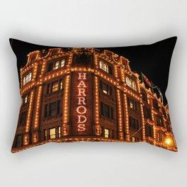 Harrods on Holidays Rectangular Pillow