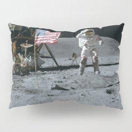 Apollo 16 - Astronaut Moon Jump Pillow Sham