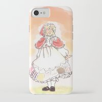 hetalia iPhone & iPod Cases featuring Red Riding Bel by Pixellated Ponderings