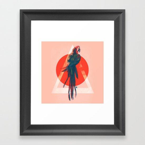Para Framed Art Print