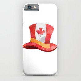 Canada Lover Canada Hat Canadian People Mapple Leaf Heart product iPhone Case