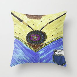 Spells and Potions - alternative spirituality Throw Pillow