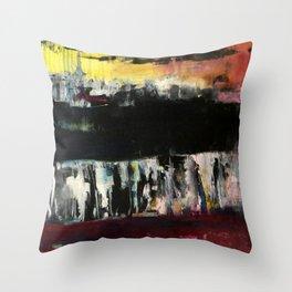 Industrial Landscape Throw Pillow