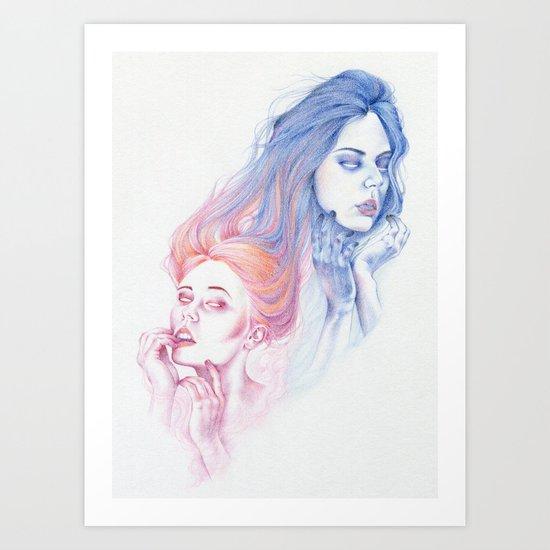 Collision Course Art Print