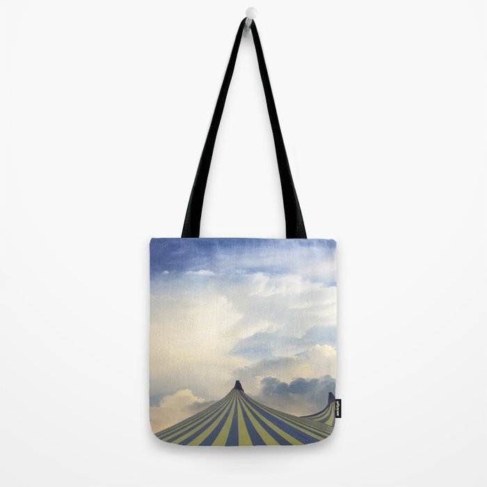 Turrets in the Clouds Tote Bag