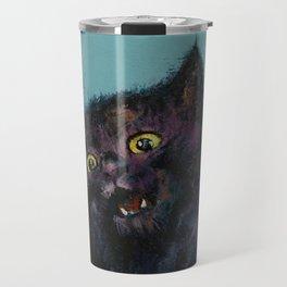 Ninja Kitten Travel Mug