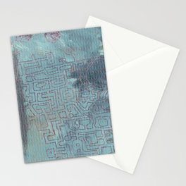 Aether Maze Stationery Cards