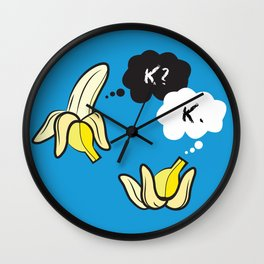 The Fault in Our Potassium Levels Wall Clock