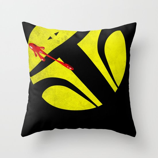 Who Watches the Bounty Hunters? Throw Pillow
