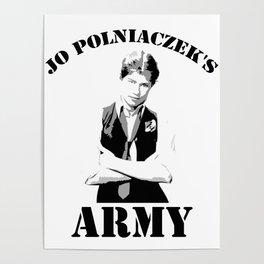 Jo Polniaczek's Army Poster