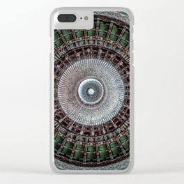 Stretch and dissolve Clear iPhone Case