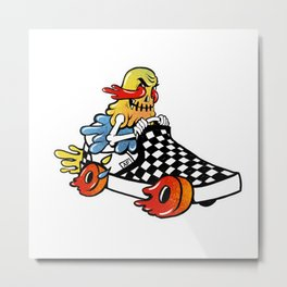 Speed Demon AF Metal Print