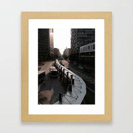 KAWASAKI / 川崎 Framed Art Print