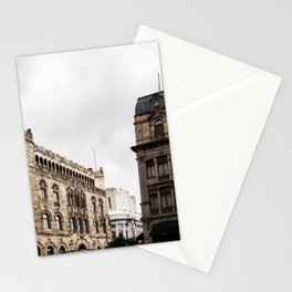 Gloomy Buildings Stationery Cards