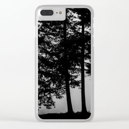 At The Edge Clear iPhone Case