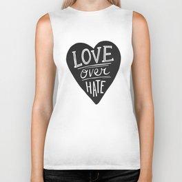 Love over Hate Biker Tank