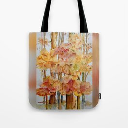 Fall Forest Tote Bag