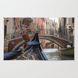 Italy Venice Gondola Rug