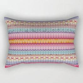 knitting pattern Rectangular Pillow