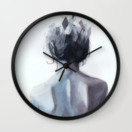 Watercolor Sketch 12 Wall Clock