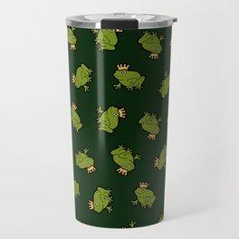 Frog Prince Pattern Travel Mug