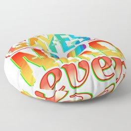 The Gayest Nerd Ever Floor Pillow